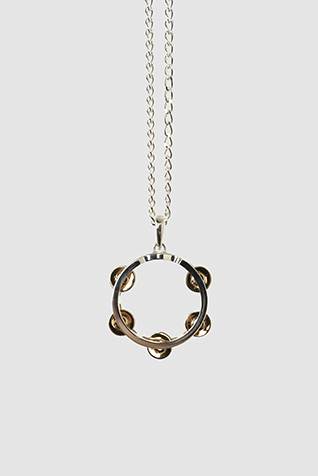 TAMBOURINE NECKLACE