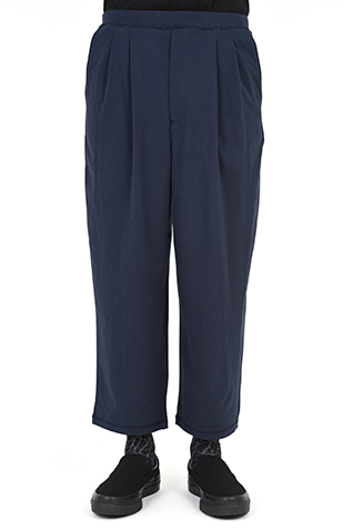 2TUCK WIDE CROPPED PANTS