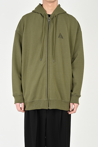 SUPER BIG ZIP UP PARKA
