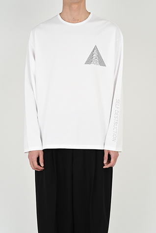 "<span class=""restock"">再入荷</span> LONG SLEEVE BIG T-SHIRT"
