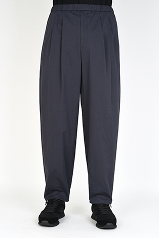 2TUCK TAPERED WIDE PANTS