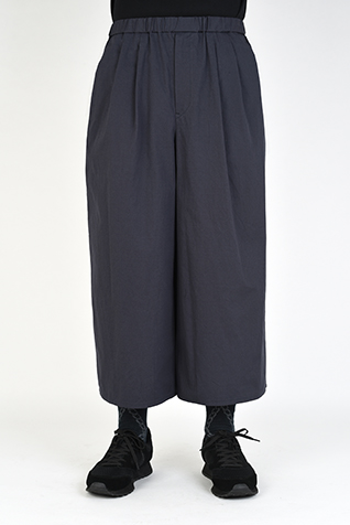 2TUCK CROPPED WIDE PANTS