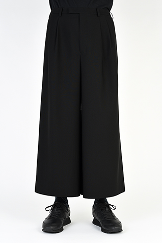 2TUCK WIDE CROPPED SLACKS
