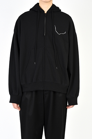 BACK-FRONT ZIP UP PARKA