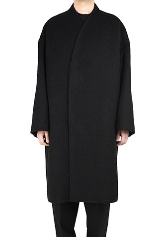 COLLARLESS BIG CHESTER COAT