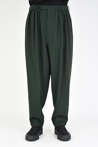 GATHER TAPERED SLACKS