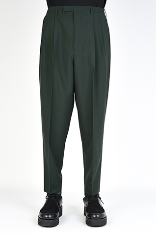"<span class=""restock"">再入荷</span> 2TUCK TAPERED WIDE SLACKS"