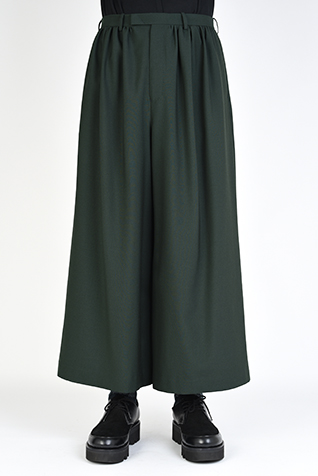 "<span class=""restock"">再入荷</span> GATHER WIDE SLACKS"
