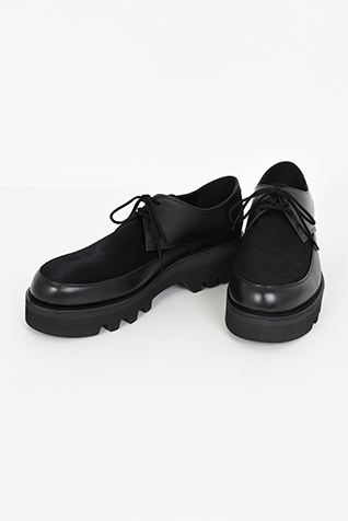 U-TIP SHOES HAIR CALF