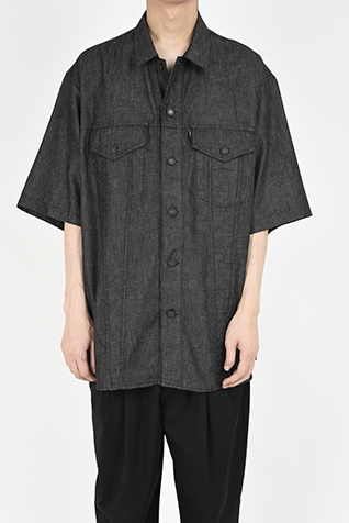 SHORT SLEEVE BIG SHIRT