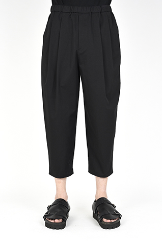 2TUCK WIDE TAPERED CROPPED PANTS
