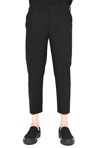 CROPPED SLIM SLACKS