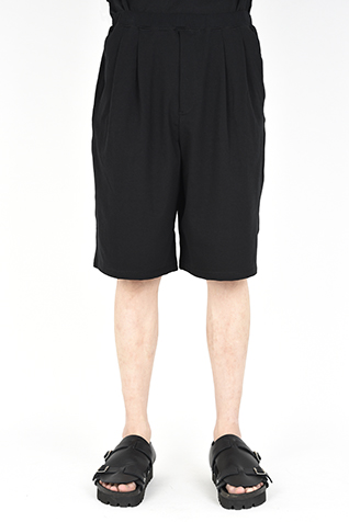 2TUCK WIDE  SHORT PANTS