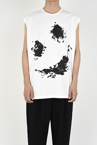SLEEVELESS BIG T-SHIRT