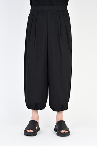 "<span class=""restock"">再入荷</span> 3TUCK BALLOON CROPPED PANTS"