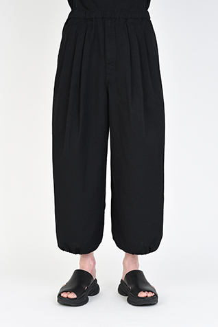 3TUCK BALLOON CROPPED PANTS