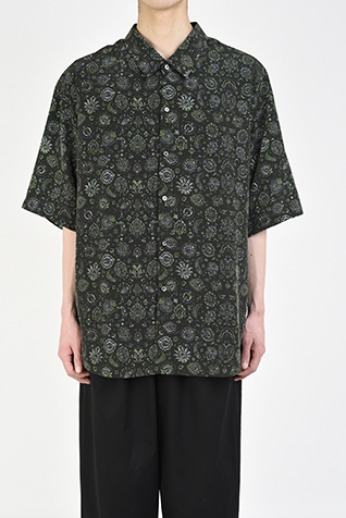"<span class=""restock"">再入荷</span> SHORT SLEEVE BIG SHIRT"