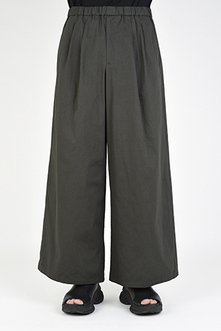 2TUCK WIDE ANKLE PANTS