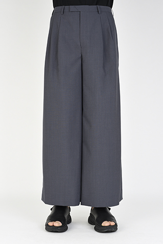 2TUCK WIDE ANKLE SLACKS