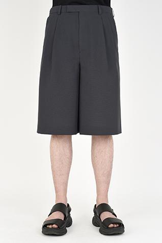 TROPICAL 2TUCK WIDE SHORT PANTS